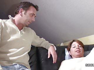 German step son seduce to fuck when home...