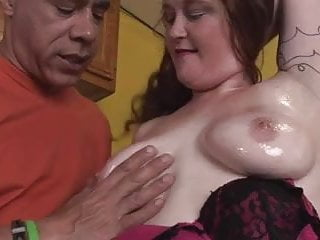 Hot hard interracial in the kitchen...