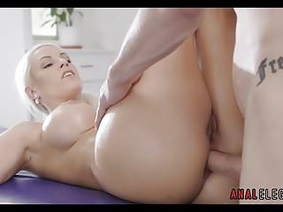 Big tit blonde enjoying...