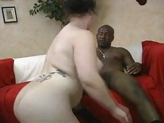 Chubby ass takes black dick...