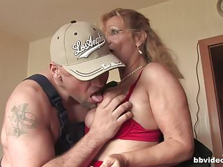 Bbvideo blonde takes a thick cock...