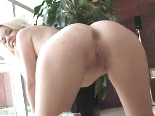 First Time a Dick in the ass for hot young Blond