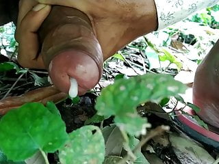 Village outdoor sex in and handjob...