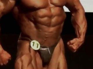 Mature Bodybuilder Steven Johnson Hot poses Hot Man