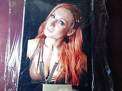 WWE Becky Lynch cumtribute #25 (St. Patrick's Day)