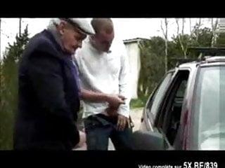 French milf gangbanged