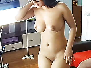 Babe kiki in camshow gets blowjob amp hot...