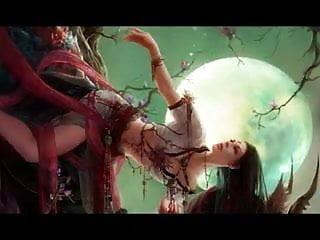 Magical Female Art Celtic Fantasy - Warriors