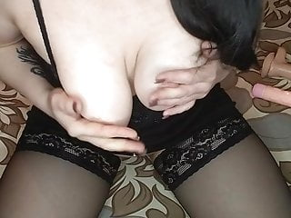 Favorite dildo and tight pussy
