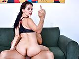 MAMACITAZ MILF Latina Takes Huge Cock On Cam - Isabella Hot
