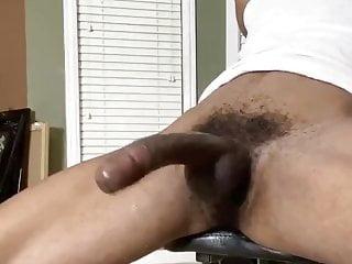 Black twink big cock cum 1...
