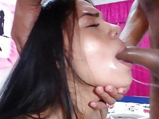 Deepthroat facefuck hardcore...