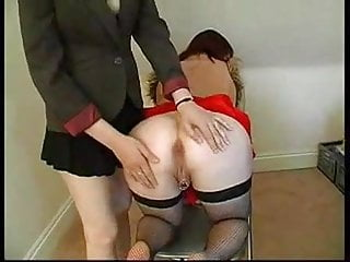 lesbian inspection arsehole anal fingering British and