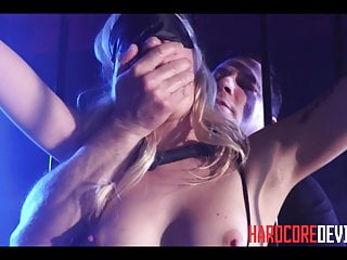 Hardcore blonde slut lyra law dungeon bdsm orgasms...