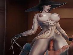 Resident Evil Village - Lady D Animations