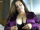 Latin MOM with huge rack enjoys a hard cock