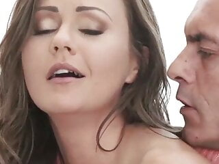 Casting cumshot lovely babe rimmed before passionate...