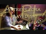 The castration of batman Mistress Lora style