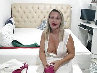 Hot Youtuber Dona Angelica Sexy Milf Cleavage And Nipslip