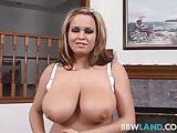Big Tit Brandy Talore Sucks Cock POV