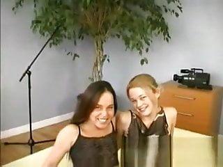 Christine and Young Tania Kaye