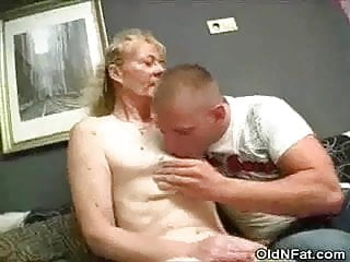Granny stripped and cock sucks...