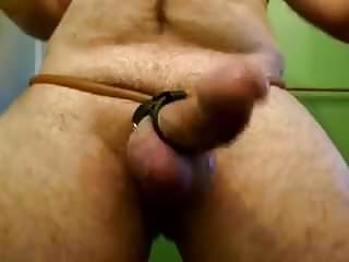 Curved small thick hard dick big balls tortured...