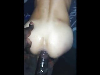 Insane raw BBC vs Lucky white boy bareback fuck
