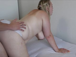 Giant ass young girlfriend in doggy...