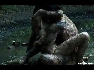 Sara forestier in mud...