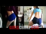 Whooty Fat booty Contest! white girls in ghetto hood pop pus