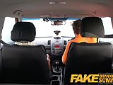 Fake Driving School squirting big tits milf gets creampie