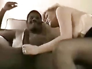 Mature bbc and hubby cleans up...