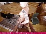 Daisy Lee in a VR nerd scene