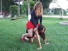 Lesbian domination ponygirl 2