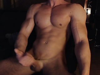 Muscle hungarian his hard cock...