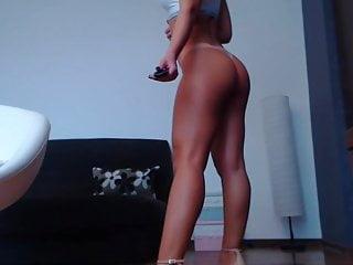 blonde goddess giving shoejob on cam Porn Videos