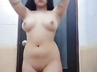 Horny sex partner showing her pussy and boobs...