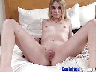 Younger coed with braces Mabel Could smashes full grown penis for facial