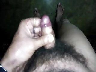 Indian bengali hairy man cock show...