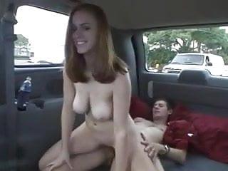 Girl get car...