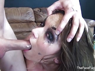 Gets fucked and cummed on...