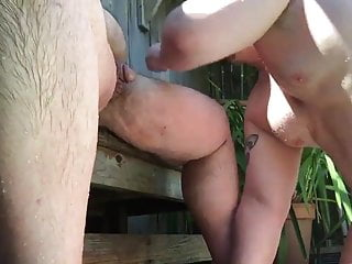 very beautiful bear sucks his boyfriend