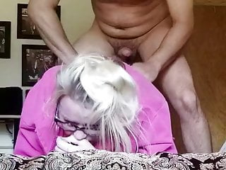 Right before slipped the dick in her asshole...