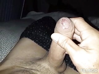 Waking up horny hard n wet cock...