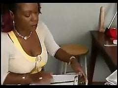 Ebony Humungous Tits
