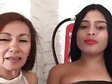 latina show boobs ass