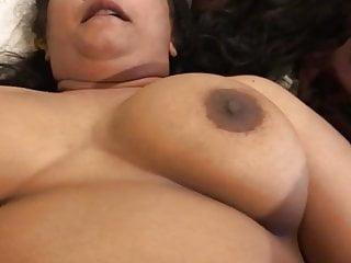 Desi chubby aunty gets titfucked...