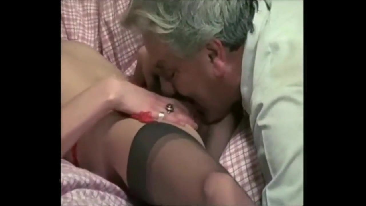 Old Man Licking Fingering