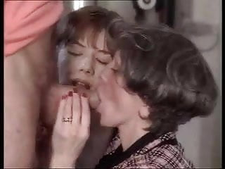 Anal fist for french granny...